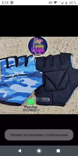 Hermosos guantes para ciclismo
