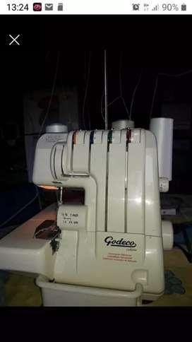 Máquina de coser overlok godeco
