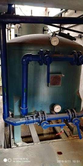 Filtro de arena para planta de tratamiento