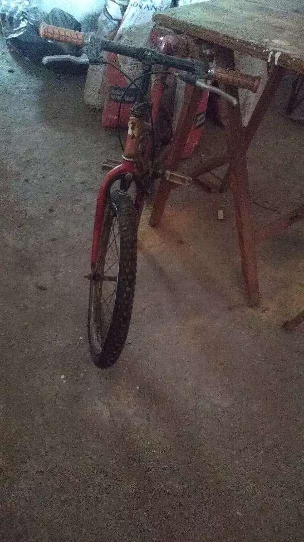 Bicicleta para reparar rodado 20 0