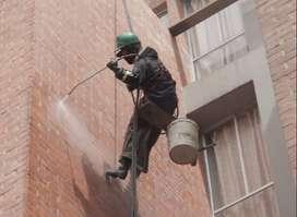 servicio de lavado  de fachadas