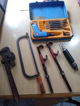 Vendo herramientas todas juntas