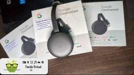 Convierte tu TV en Smart Tv con Google Cchromecast 3