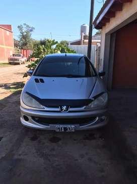 VENDO - PERMUTO, Entrego mayor valor - Peugeot 206 XS, año 2007. Impecable. funciona todo. Listo para transferir.