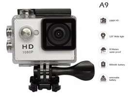 CAMARA DEPORTIVA DIGITAL FULL HD 1080p - COLOR PLATA