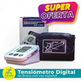 Tensiómetro digital de brazo con voz en español