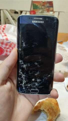 Samsung s6 edge trincado