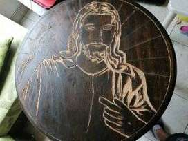 Mesa rústica Jesús