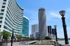 Venta O01 Oficinas Excelente Vista Edificio The Point Guayaquil