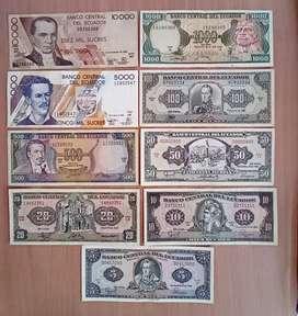 Billetes del ecuador