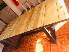 Mesa centro diseño industrial