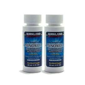 Kirkland Minoxidil X2 60ml  Barba Cabelloalopecia