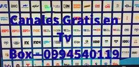 Canales de Tv en TvBox