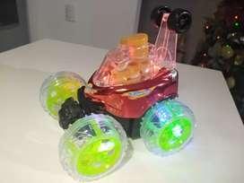 Carro burbujas control