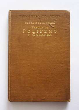 Luis de Gongora - Fabula de Polifemo y Galatea