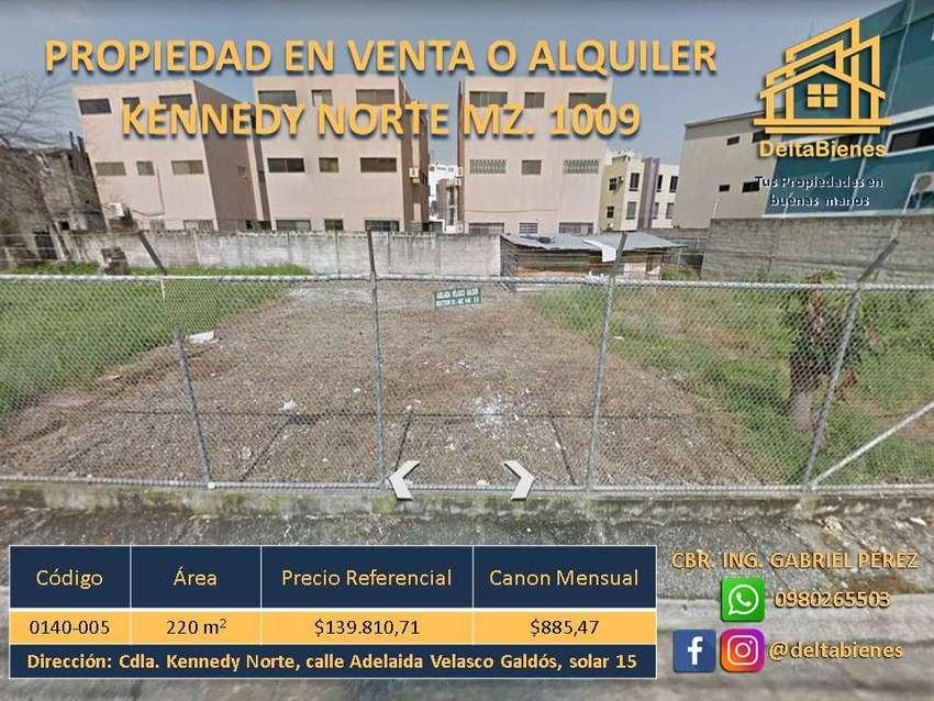 TERRENO EN VENTA KENNEDY NORTE 0