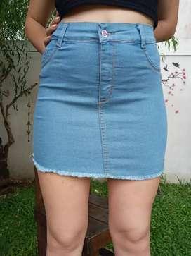 Shorts, polleras y pantalones de jeans
