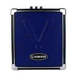 Cabina Alto Parlante Portatil Sonivox 400w Con Micrófono