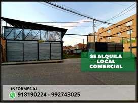 SE ALQUILA AMPLIO LOCAL COMERCIAL, IDEAL PARA CUALQUIER TIPO DE EMPRENDIMIENTO.