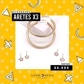 Aretes set