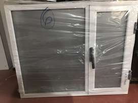 Ventana Aluminio Esmerilada