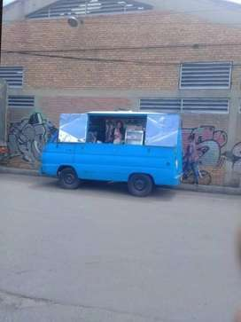 Venta carro motorizado food trucks