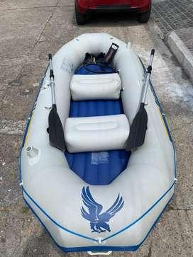 Bote para rafting 100% funcional