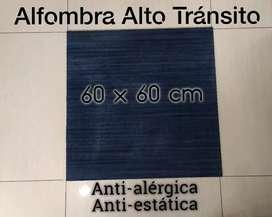 Alfombra azul 60 X 60 cm