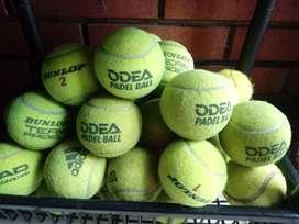 Vendo pelotas de padel usadas a $ 50 c/u