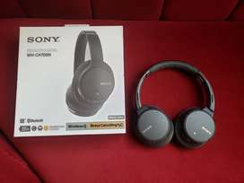 Audífonos Sony WH-CH700N inalambrico con noise cancelling