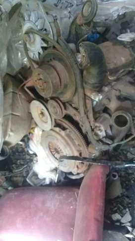 Permuto mecánica Renault 6 motor y caja por moto 110