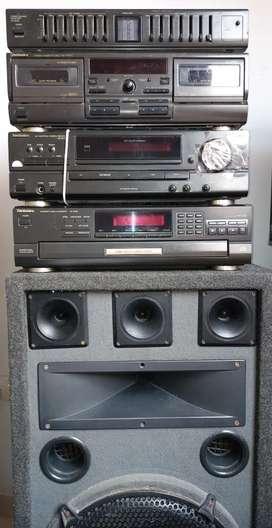 Equipo de sonido technics