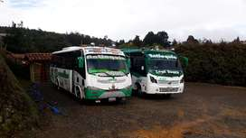 Bus buseta micro servicios especiales