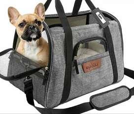 Guacal Morral Para Gatos Perros Ideal Para Viajes