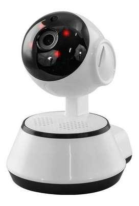 Cámara Robótica Ip Wifi Audio Doble Via Visión Nocturna