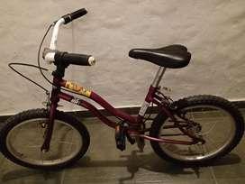 Bicicleta niños infantil usada en buen estado