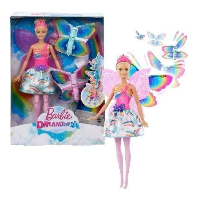 Barbie Dreamtopia Hada Alas Magicas Original Mattel 0