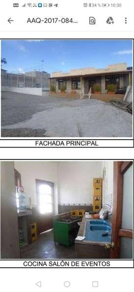 VENTA CANCHA SITENTICA CON LOCAL DE EVENTOS