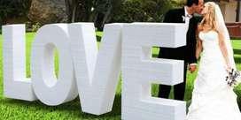 #formas en Icopor para Eventos