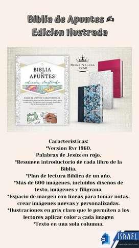 Biblias de Apuntes  Edición Ilustrada