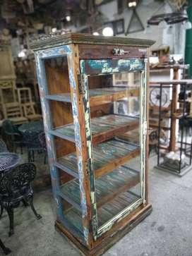 vitrinas cristaleros maderas recuperadas