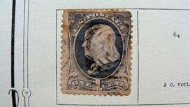 Sellos postales de U.S.A. 1870 – 1893