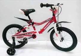Bicicleta Kawasaki Aro 16 Con Ruedas Importada Niños Niñas
