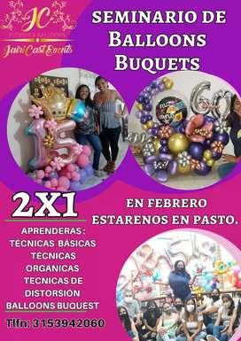 Seminario de Balloons Buquets