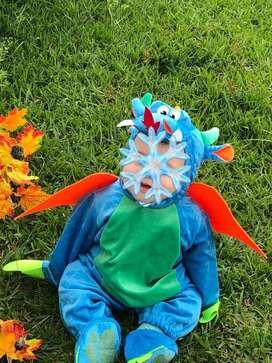 Vendo disfraz de dragon para bebe de 6 a 12 meses