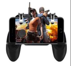 Gatillo W11X Control móvil Gamepad Gaming Controller Fire Game Controller Joystick Metal Trigger para Android IOS