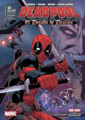 Deadpool: El Desafio De Dracula Comic