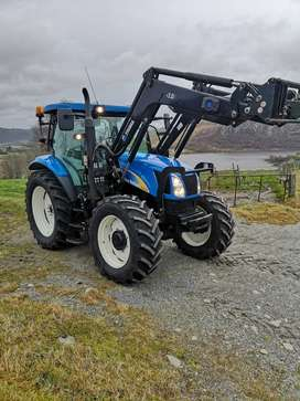 Tractor New Holland T 6020 Elite año 2011