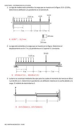 Tutorias y resolucion de examenes y trabajos de Estatica y Resistencia de materiales
