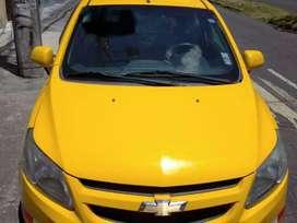 Chofer para taxi amarillo